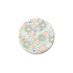 Donuts Pattern Golf Ball Marker (10 Pack) by ValentinaDesign