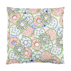 Donuts Pattern Standard Cushion Case (one Side) by ValentinaDesign