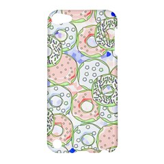 Donuts Pattern Apple Ipod Touch 5 Hardshell Case by ValentinaDesign