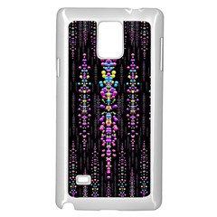 Rainbow Asteroid Pearls In The Wonderful Atmosphere Samsung Galaxy Note 4 Case (white) by pepitasart