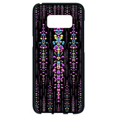 Rainbow Asteroid Pearls In The Wonderful Atmosphere Samsung Galaxy S8 Black Seamless Case by pepitasart