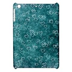 Heart Pattern Apple Ipad Mini Hardshell Case by ValentinaDesign