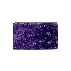 Heart Pattern Cosmetic Bag (small)  by ValentinaDesign