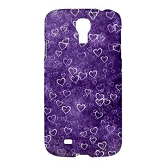 Heart Pattern Samsung Galaxy S4 I9500/i9505 Hardshell Case by ValentinaDesign
