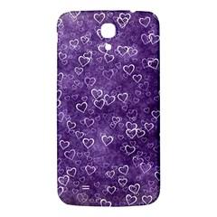 Heart Pattern Samsung Galaxy Mega I9200 Hardshell Back Case by ValentinaDesign
