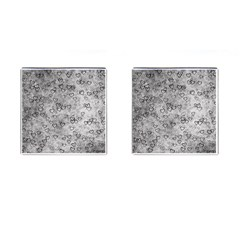 Heart Pattern Cufflinks (square) by ValentinaDesign