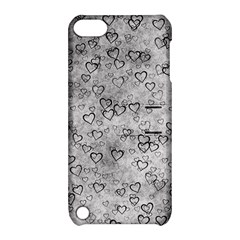 Heart Pattern Apple Ipod Touch 5 Hardshell Case With Stand by ValentinaDesign