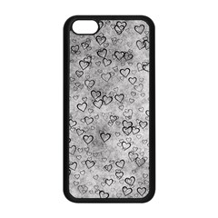 Heart Pattern Apple Iphone 5c Seamless Case (black) by ValentinaDesign