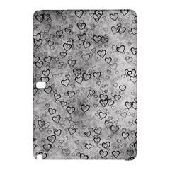 Heart Pattern Samsung Galaxy Tab Pro 12 2 Hardshell Case by ValentinaDesign