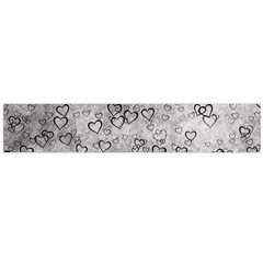 Heart Pattern Flano Scarf (large) by ValentinaDesign