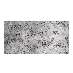 Heart Pattern Satin Wrap by ValentinaDesign