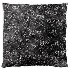 Heart Pattern Standard Flano Cushion Case (two Sides) by ValentinaDesign