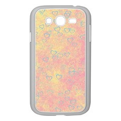 Heart Pattern Samsung Galaxy Grand Duos I9082 Case (white) by ValentinaDesign