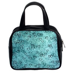 Heart Pattern Classic Handbags (2 Sides) by ValentinaDesign