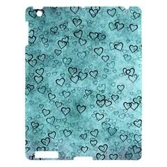 Heart Pattern Apple Ipad 3/4 Hardshell Case by ValentinaDesign