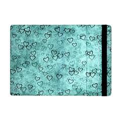 Heart Pattern Apple Ipad Mini Flip Case by ValentinaDesign