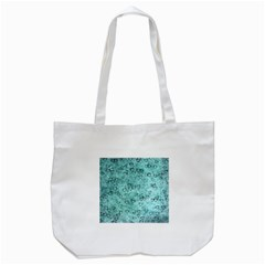 Heart Pattern Tote Bag (white) by ValentinaDesign