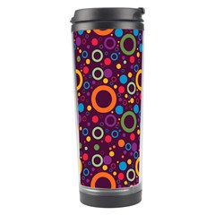 70s Pattern Travel Tumbler by ValentinaDesign