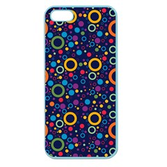 70s Pattern Apple Seamless Iphone 5 Case (color) by ValentinaDesign