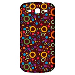 70s Pattern Samsung Galaxy S3 S Iii Classic Hardshell Back Case by ValentinaDesign