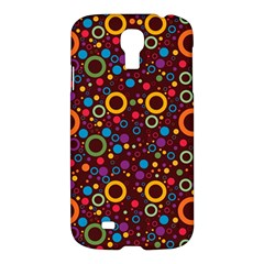 70s Pattern Samsung Galaxy S4 I9500/i9505 Hardshell Case by ValentinaDesign