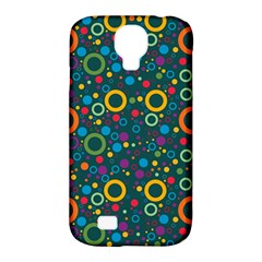 70s Pattern Samsung Galaxy S4 Classic Hardshell Case (pc+silicone) by ValentinaDesign