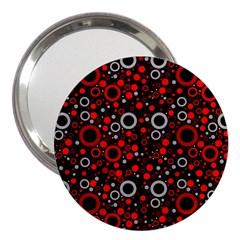 70s Pattern 3  Handbag Mirrors by ValentinaDesign