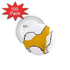 Icelandic Sheepdog Silo Color 1 75  Buttons (100 Pack)