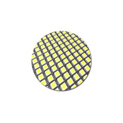 Wafer Size Figure Golf Ball Marker by Mariart