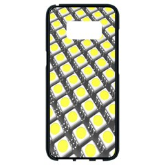 Wafer Size Figure Samsung Galaxy S8 Black Seamless Case by Mariart