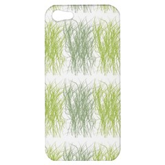 Weeds Grass Green Yellow Leaf Apple Iphone 5 Hardshell Case by Mariart