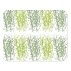 Weeds Grass Green Yellow Leaf Double Sided Flano Blanket (large)  by Mariart