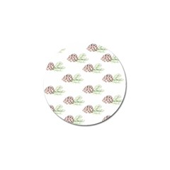 Pinecone Pattern Golf Ball Marker by Mariart