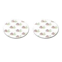 Pinecone Pattern Cufflinks (oval) by Mariart