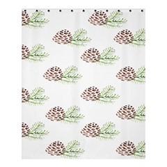 Pinecone Pattern Shower Curtain 60  X 72  (medium)  by Mariart