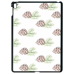 Pinecone Pattern Apple Ipad Pro 9 7   Black Seamless Case by Mariart