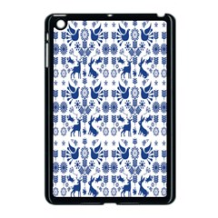 Rabbits Deer Birds Fish Flowers Floral Star Blue White Sexy Animals Apple Ipad Mini Case (black) by Mariart