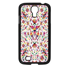 Peacock Rainbow Animals Bird Beauty Sexy Flower Floral Sunflower Star Samsung Galaxy S4 I9500/ I9505 Case (black) by Mariart