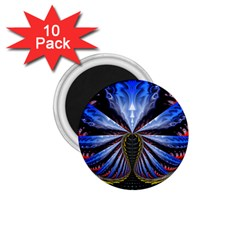 Illustration Robot Wave 1 75  Magnets (10 Pack)  by Mariart