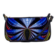 Illustration Robot Wave Shoulder Clutch Bags by Mariart