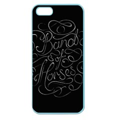 Band Of Horses Apple Seamless Iphone 5 Case (color) by Zhezhe