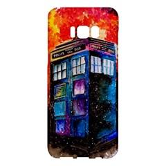 Dr Who Tardis Painting Samsung Galaxy S8 Plus Hardshell Case