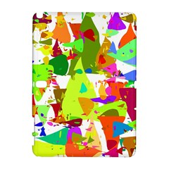 Colorful Shapes On A White Background                       Htc Desire 601 Hardshell Case by LalyLauraFLM