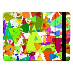 Colorful Shapes On A White Background                       Samsung Galaxy Tab Pro 10 1  Flip Case by LalyLauraFLM
