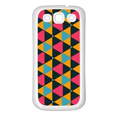 Triangles Pattern                     Samsung Galaxy S7710 Xcover 2 Hardshell Case by LalyLauraFLM
