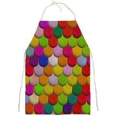 Colorful Tiles Pattern                           Full Print Apron by LalyLauraFLM