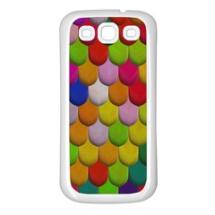 Colorful Tiles Pattern                     Samsung Galaxy S7710 Xcover 2 Hardshell Case by LalyLauraFLM