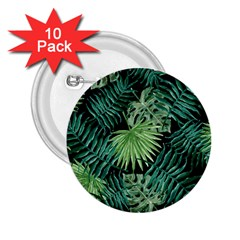 Tropical Pattern 2 25  Buttons (10 Pack)  by ValentinaDesign