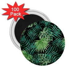 Tropical Pattern 2 25  Magnets (100 Pack)  by ValentinaDesign