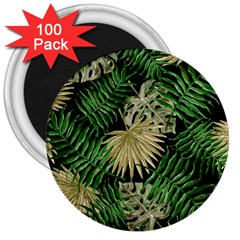 Tropical Pattern 3  Magnets (100 Pack) by ValentinaDesign